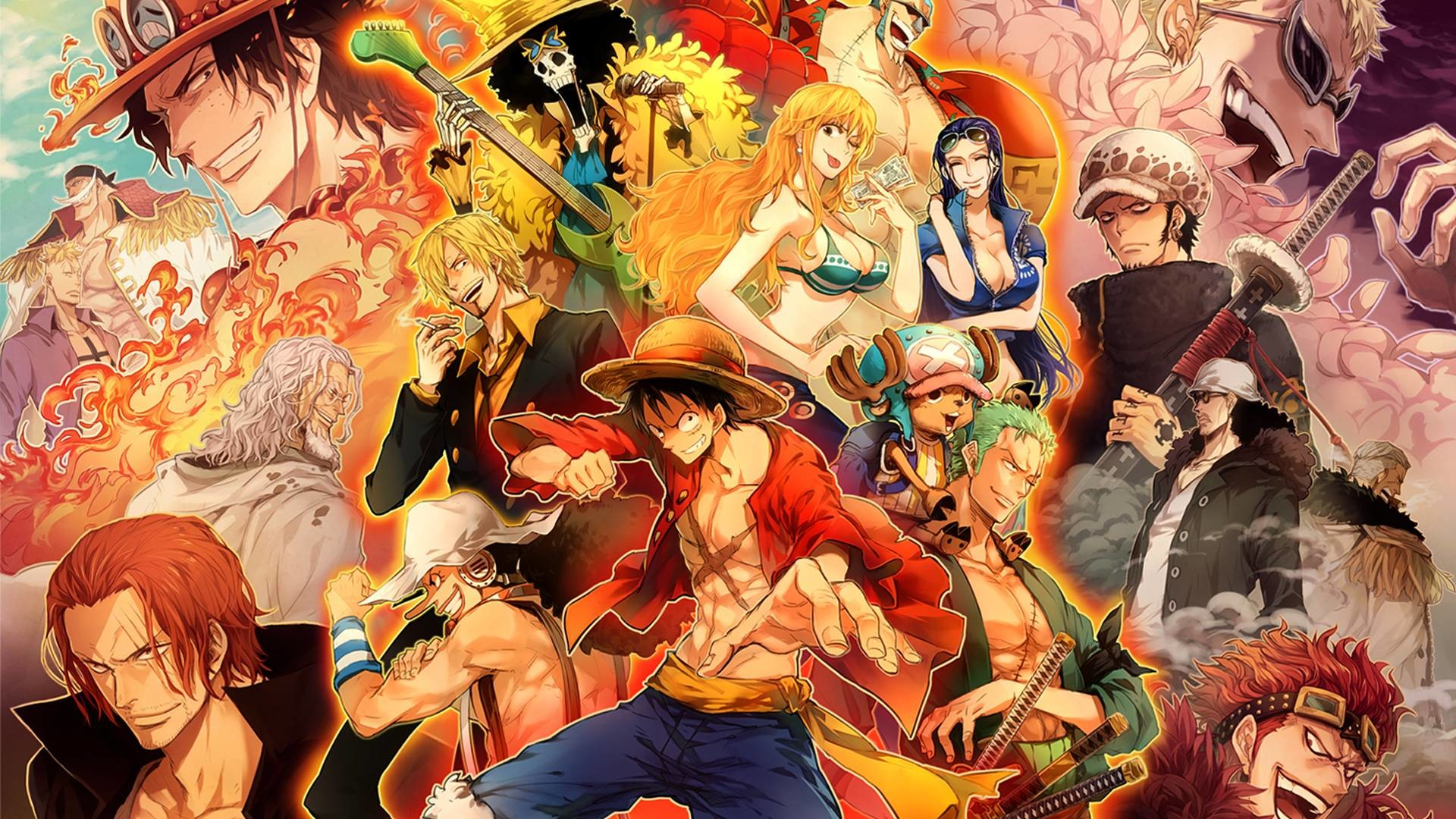 One Piece New World Wallpaper 66 Pictures
