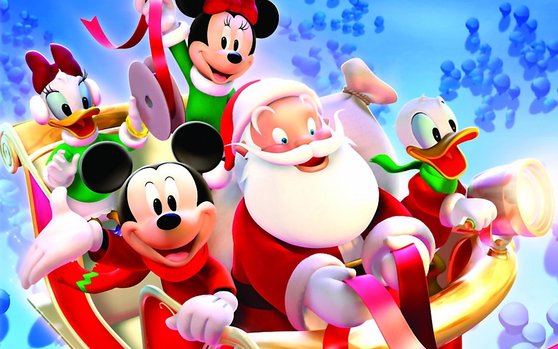 Mickey Mouse Christmas Backgrounds 64 Pictures