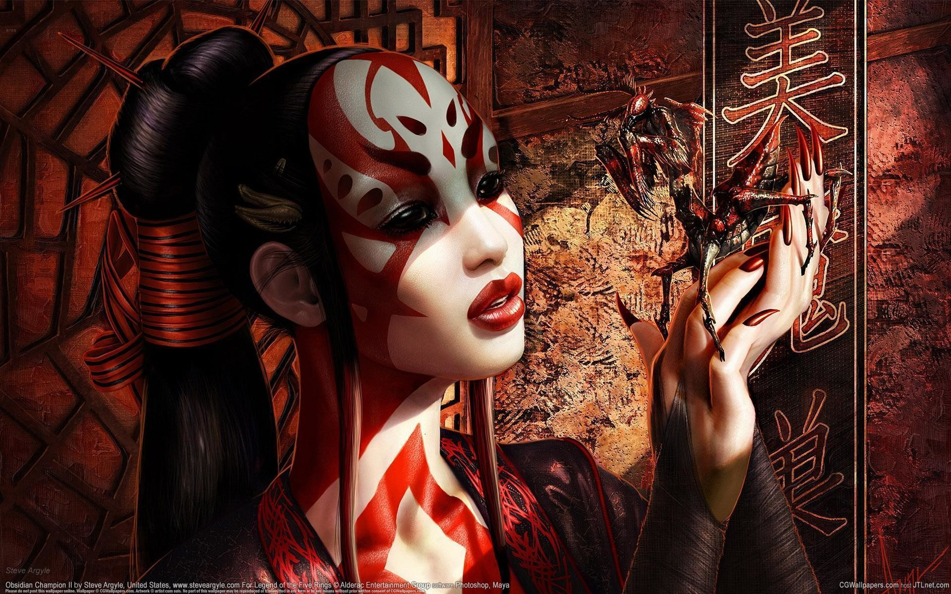 Japanese Geisha Wallpaper 68 Pictures