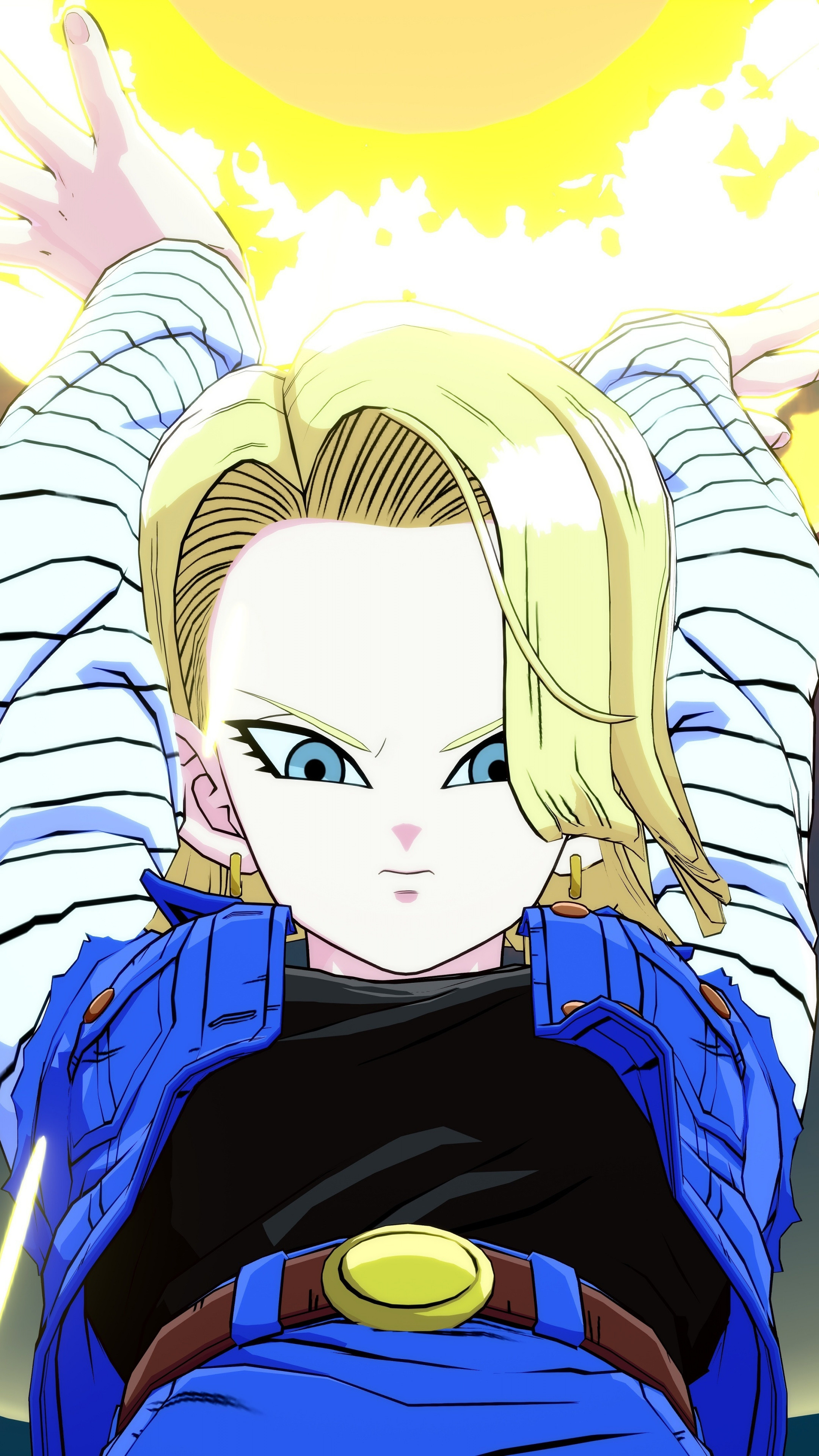 Android 18 Wallpapers (70+ pictures)