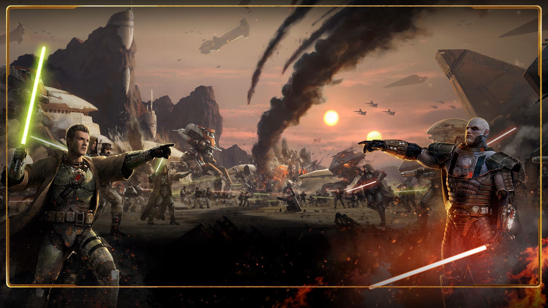 View Star Wars The Old Republic Wallpaper 2560x1440 Png