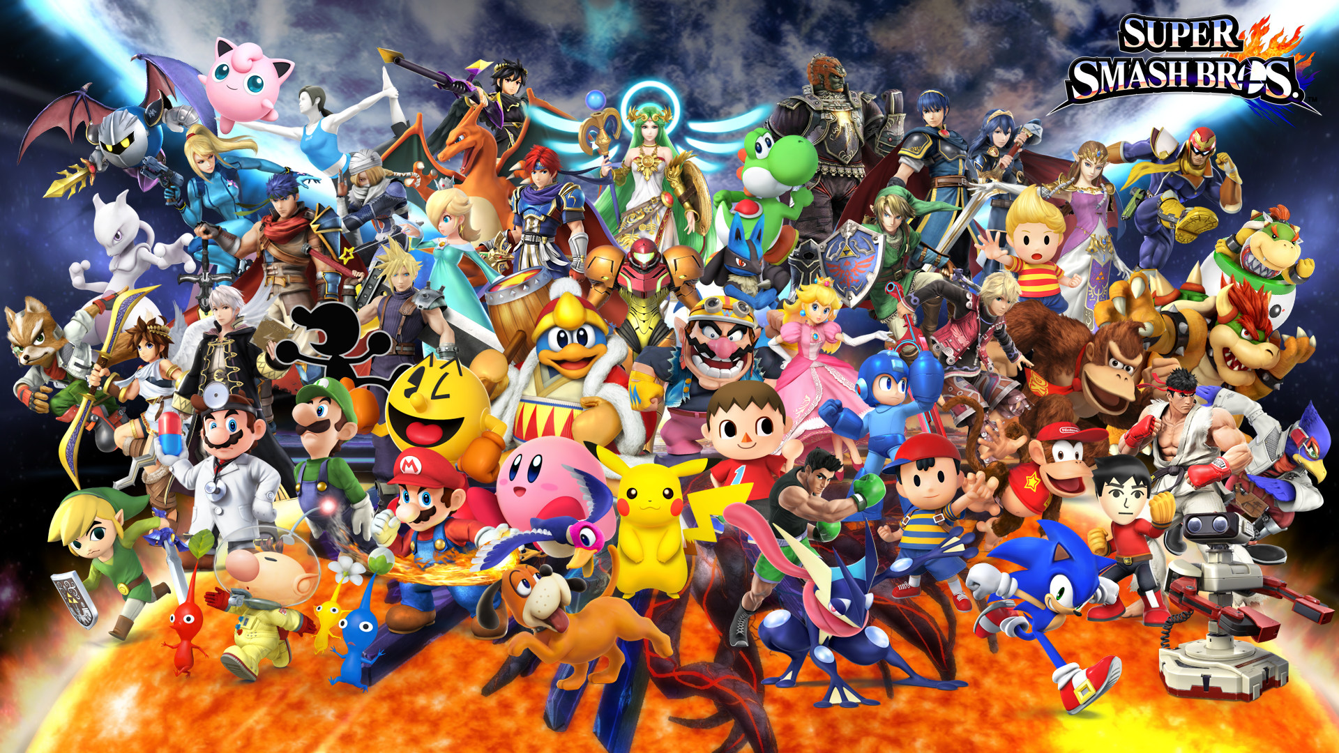 Super Smash Bros Wallpaper 74 Pictures