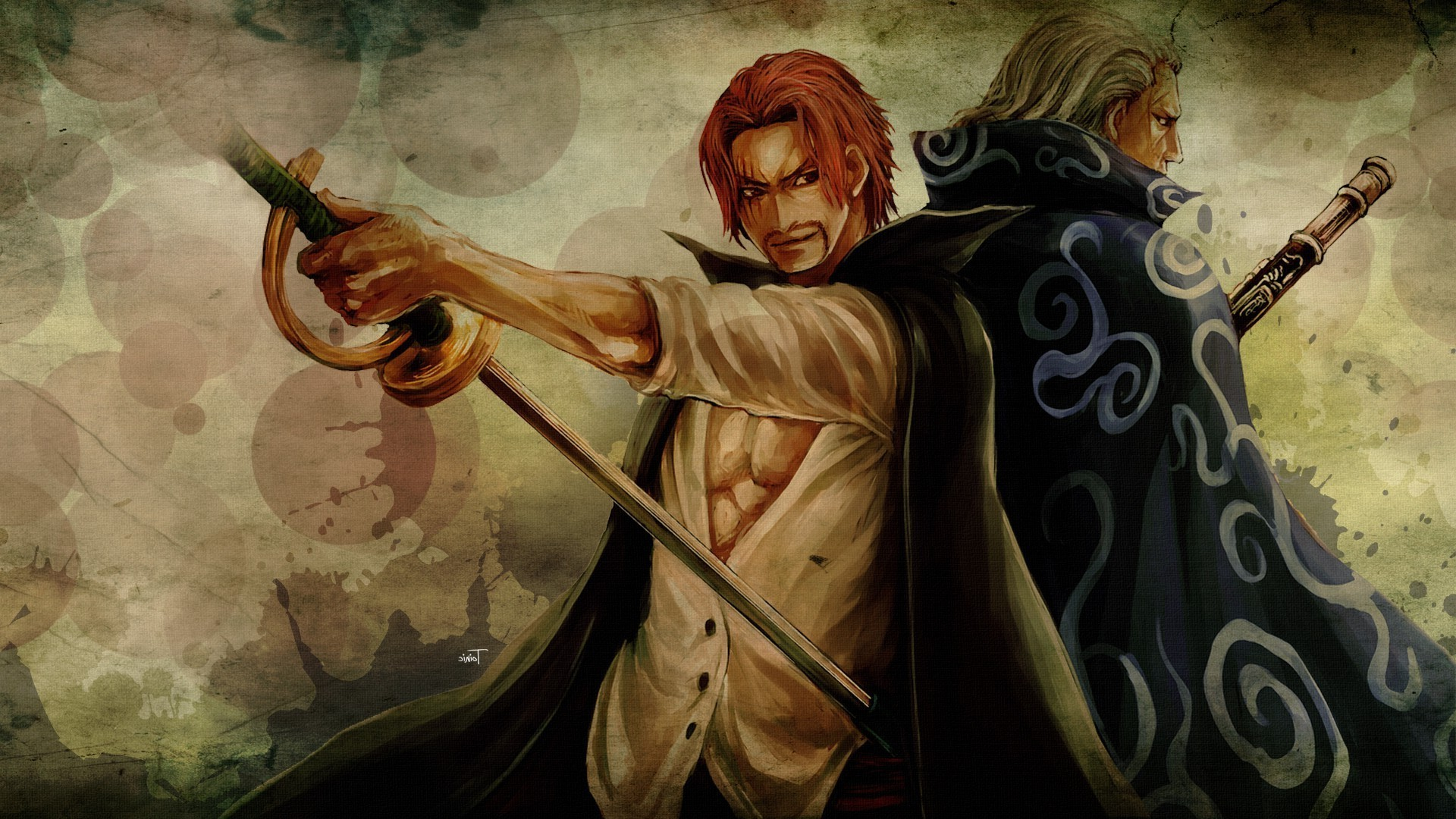 One Piece Shanks Wallpapers 73 Pictures