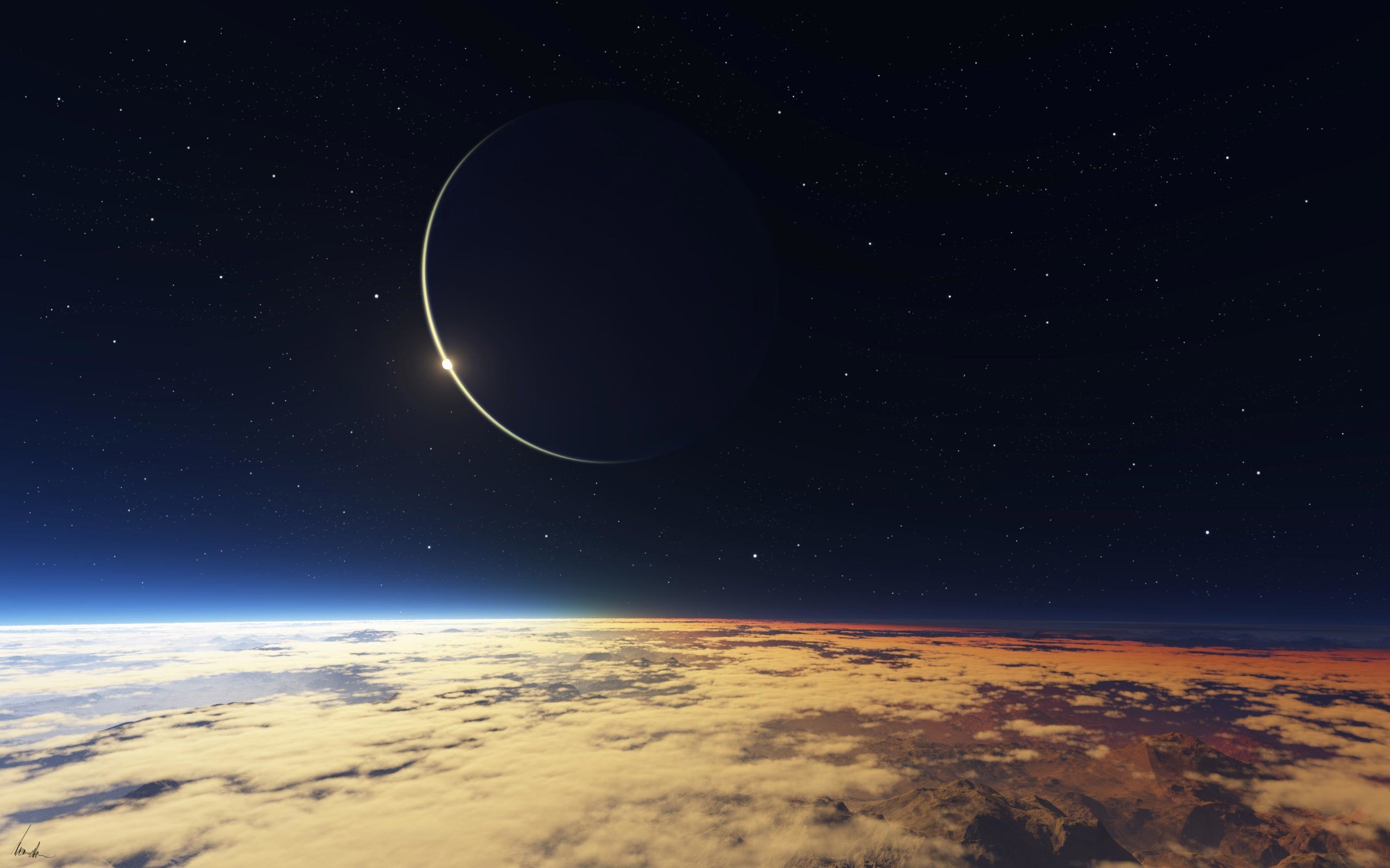 Planet Eclipse Wallpaper 66 Pictures