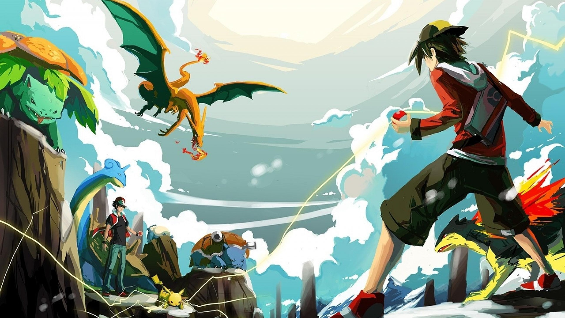 Pokemon Wallpaper 1920x1080 70 Pictures