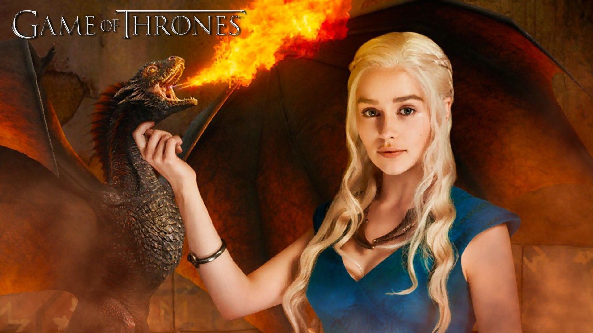 Emilia Clarke Game Of Thrones Wallpapers 67 Pictures