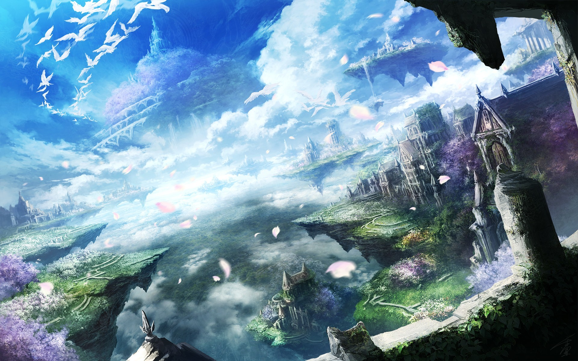 Fantasy Anime Wallpaper 72 Pictures