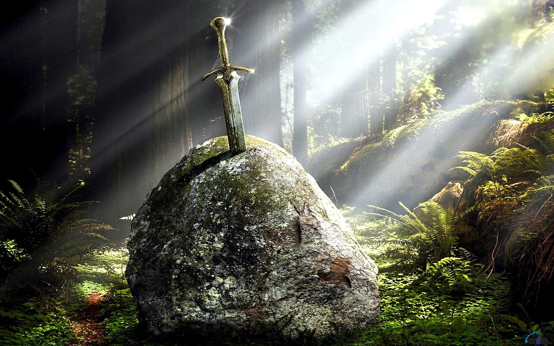 Excalibur Sword 1920x1200