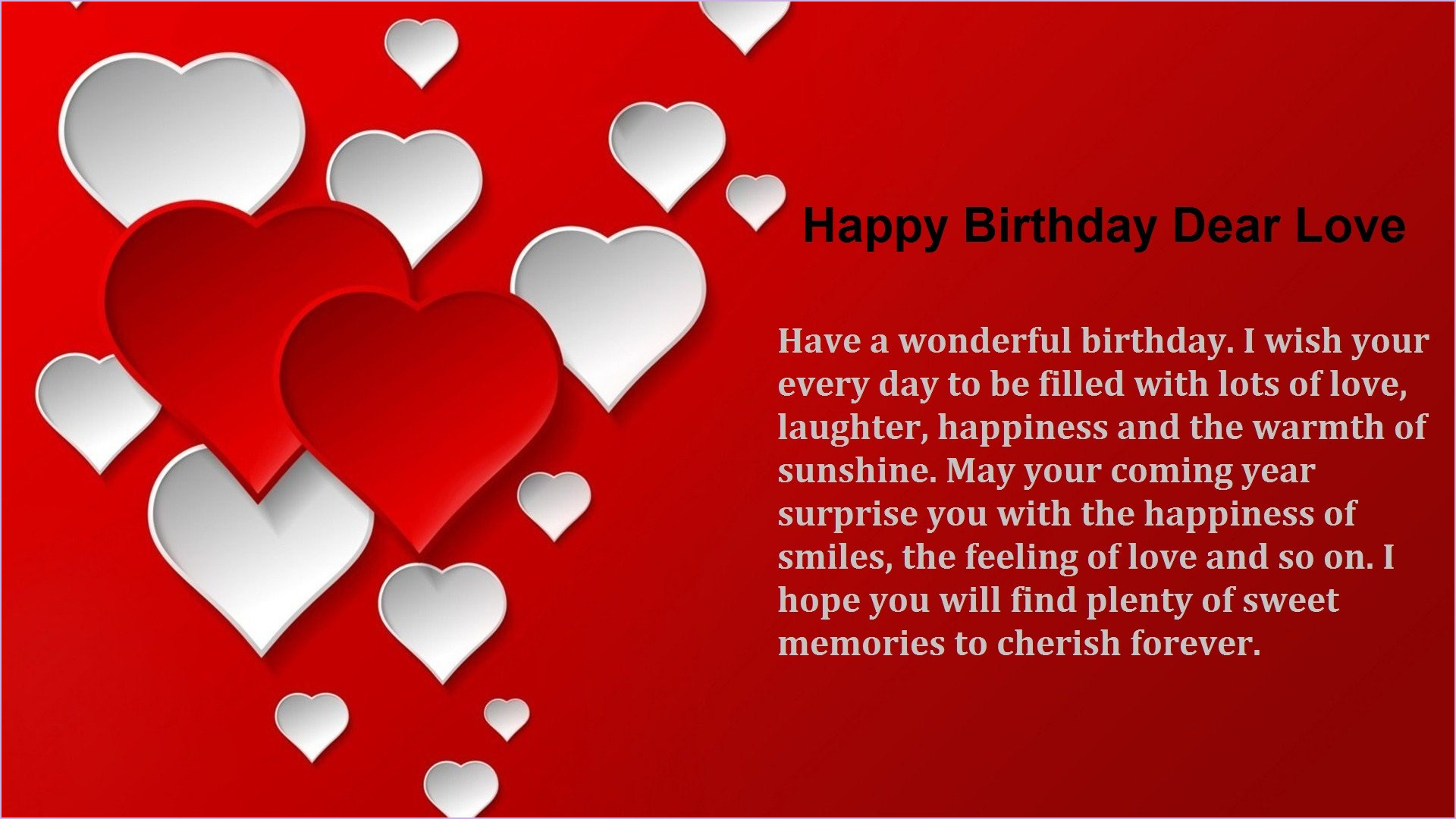 Awesome Happy Birthday Love Wallpaper 53 Pictures Personalised Birthday Cards Bromeletsinfo
