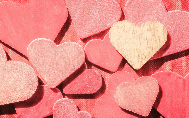 Heart Shape Wallpaper 56 Pictures