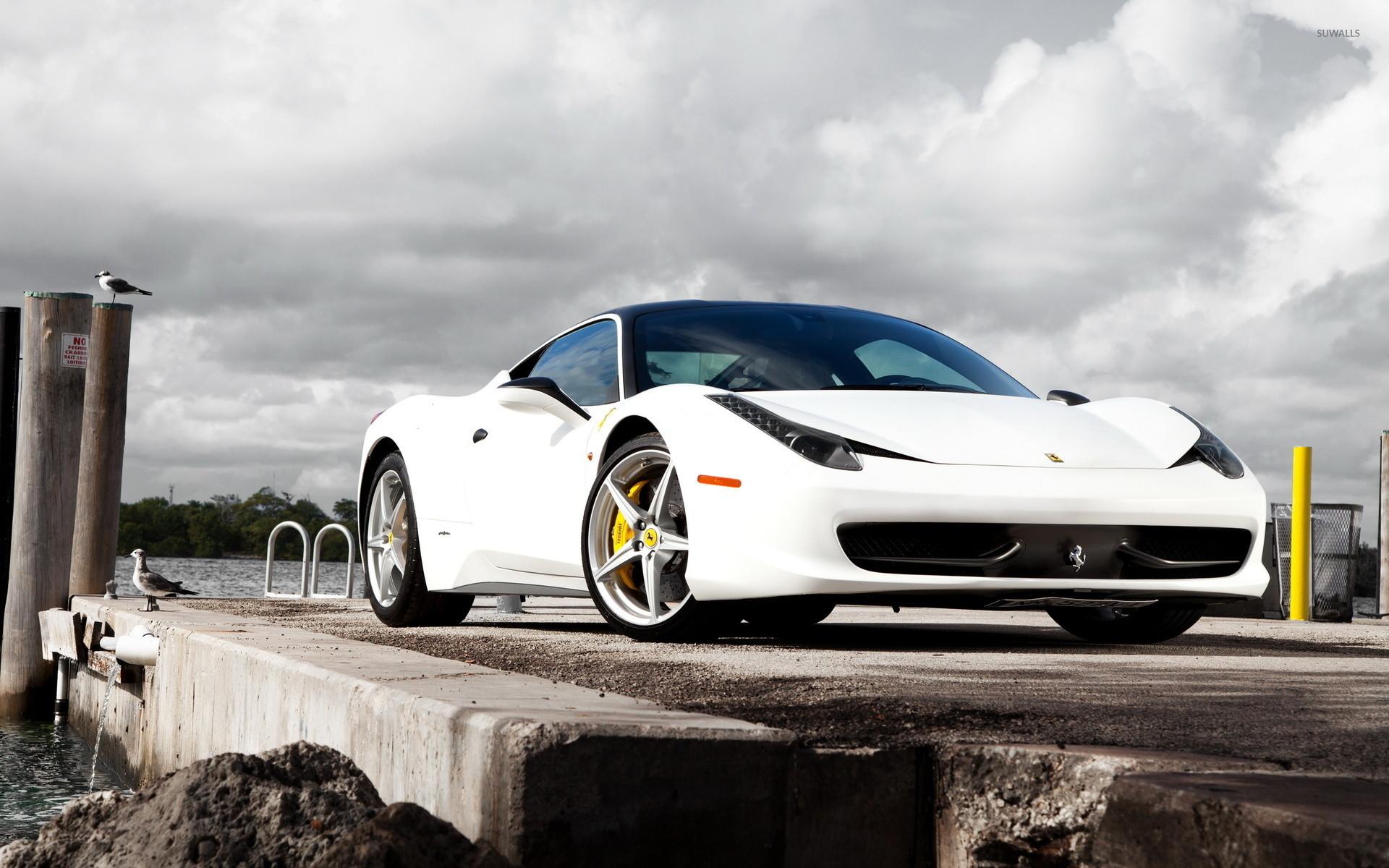 2560x1600 Gray Ferrari 458 Italia Hd Wallpaper