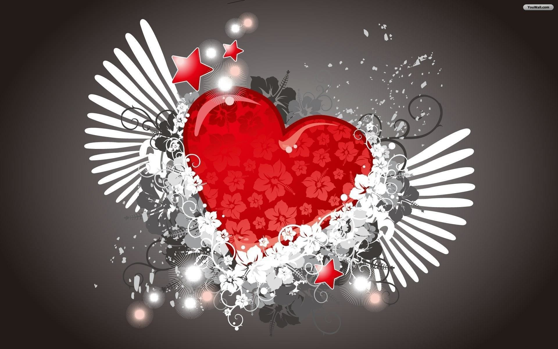 Heart Love Wallpaper Images 56 Pictures
