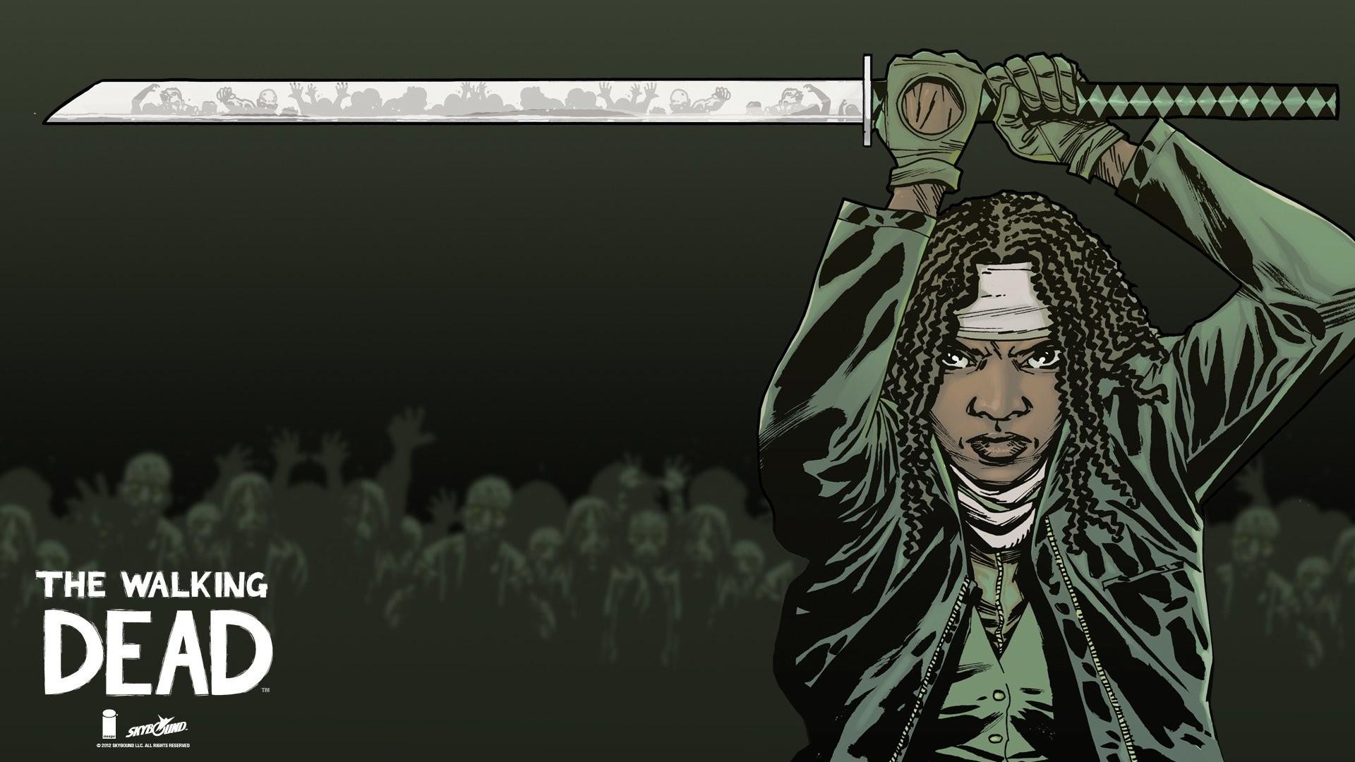 Walking Dead Comic Wallpaper 66 Pictures
