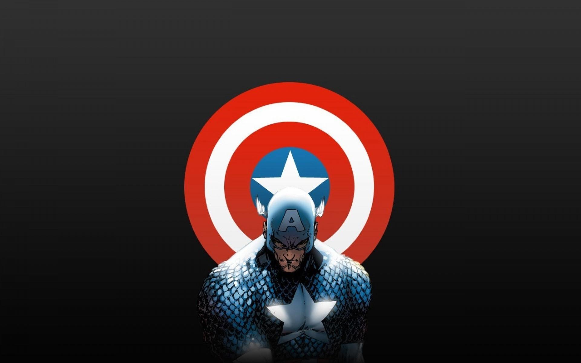 Captain America Shield Wallpaper 4k Download