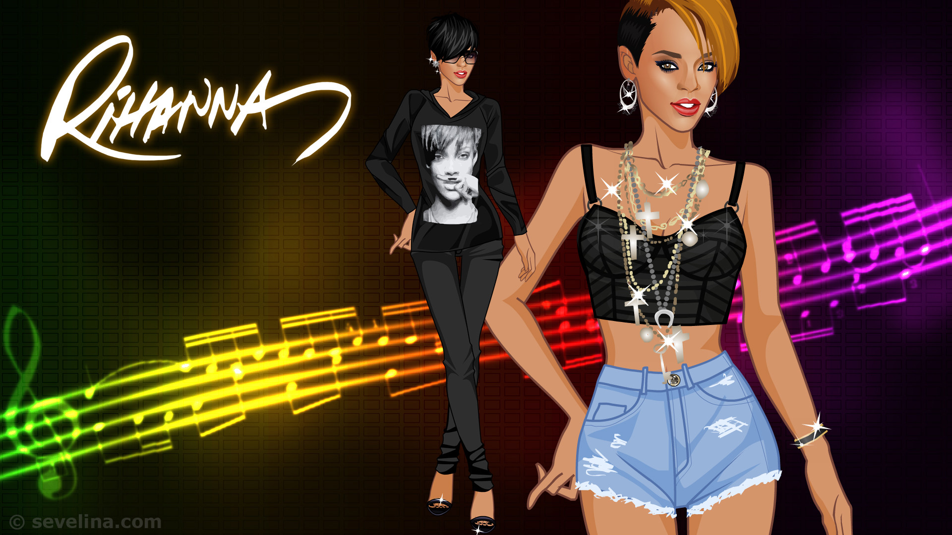 Rihanna wallpaper 68 pictures - Sevelina games ...