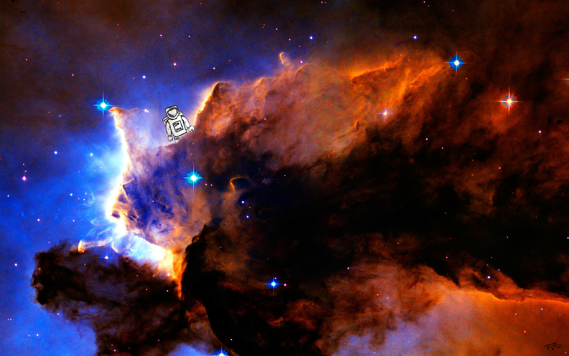 1920x1200 Nebula Eagle M16 Ngc 6611 Hubble Telescope Star Space