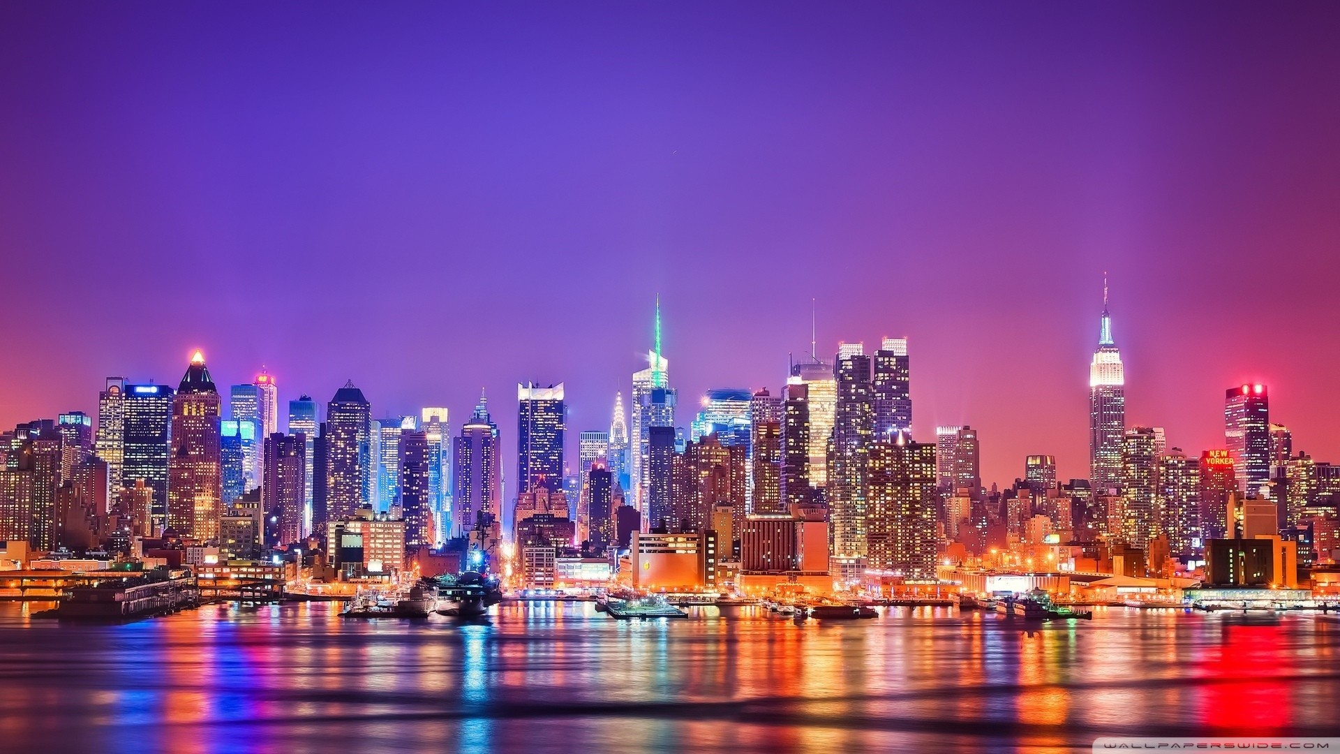Nyc At Night Wallpaper 71 Pictures