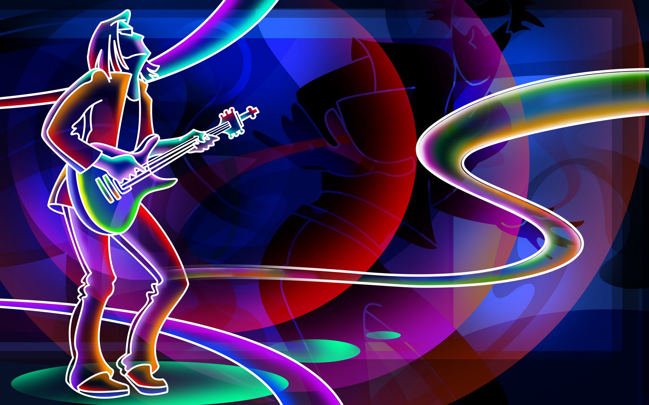 Awesome Neon Wallpapers 60 Pictures