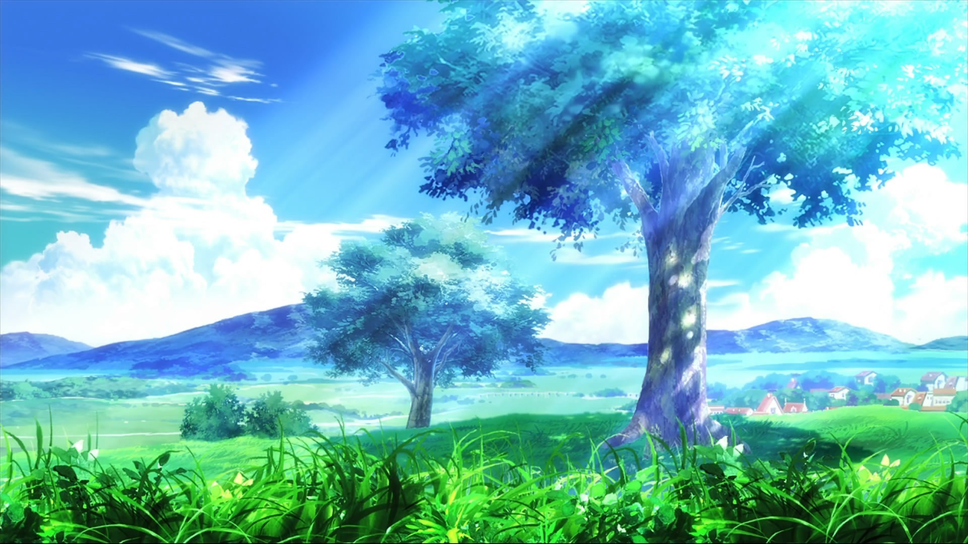 Awesome Anime Backgrounds (69+ pictures)