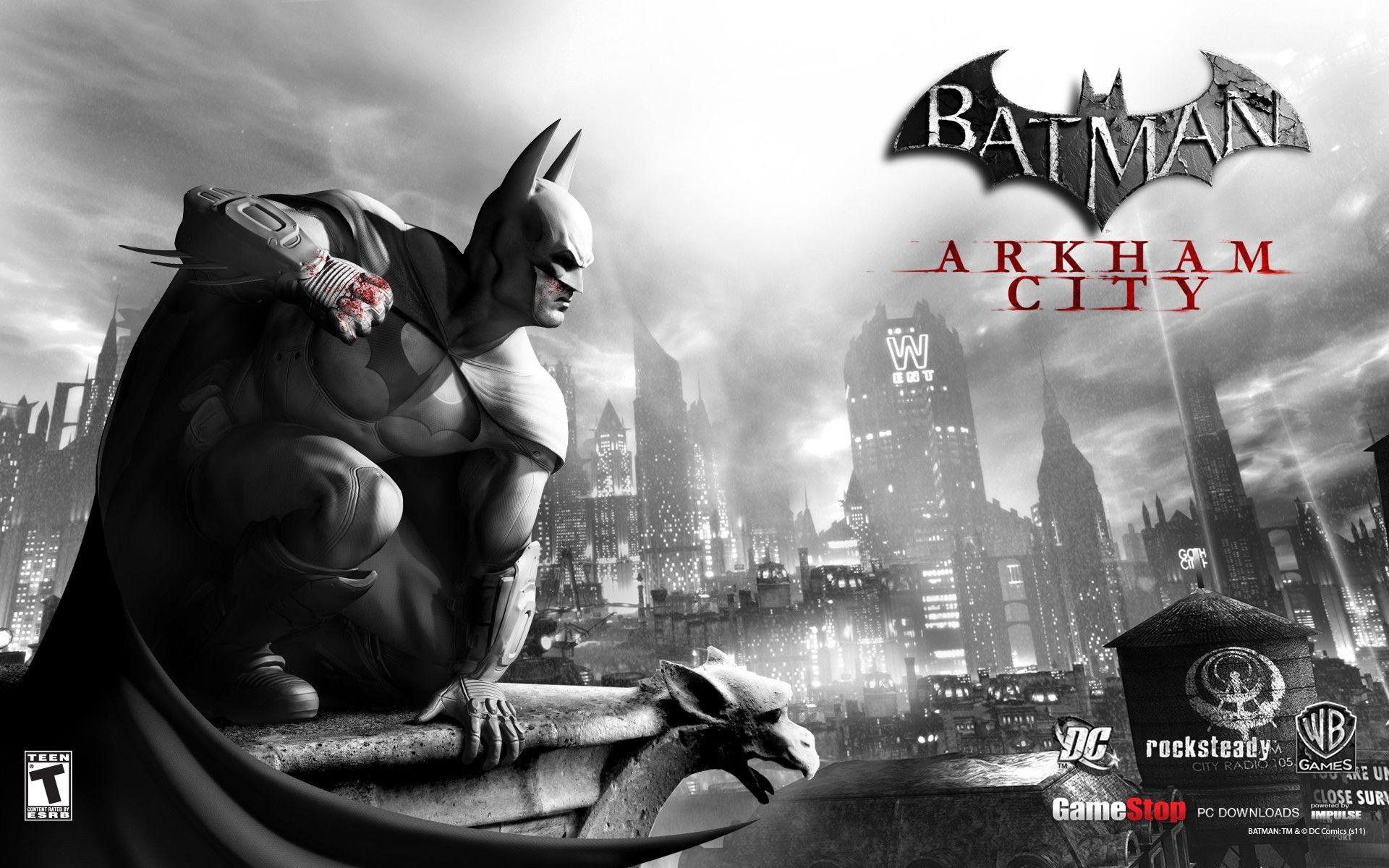 Batman Arkham Asylum Wallpaper 76 Pictures