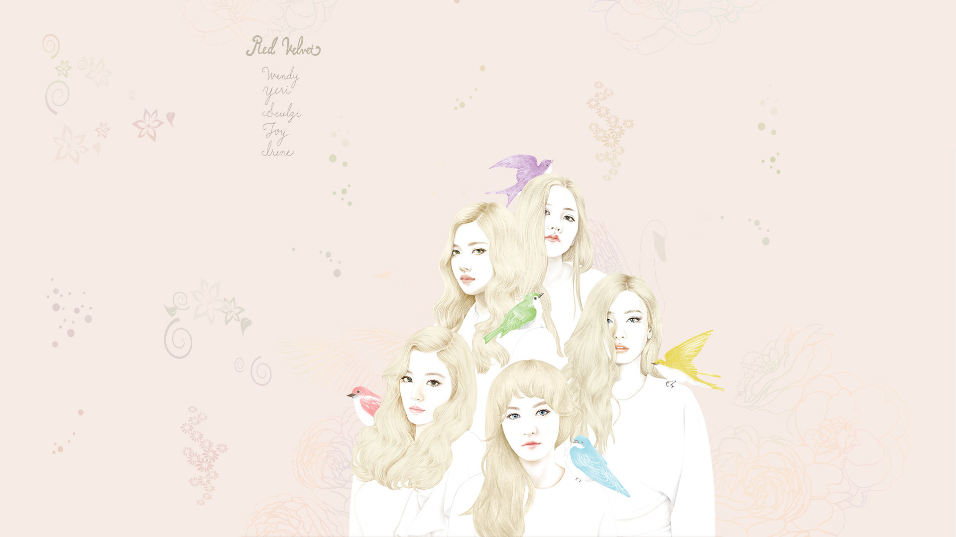 Best Wallpaper Red Velvet Wallpaper Pc