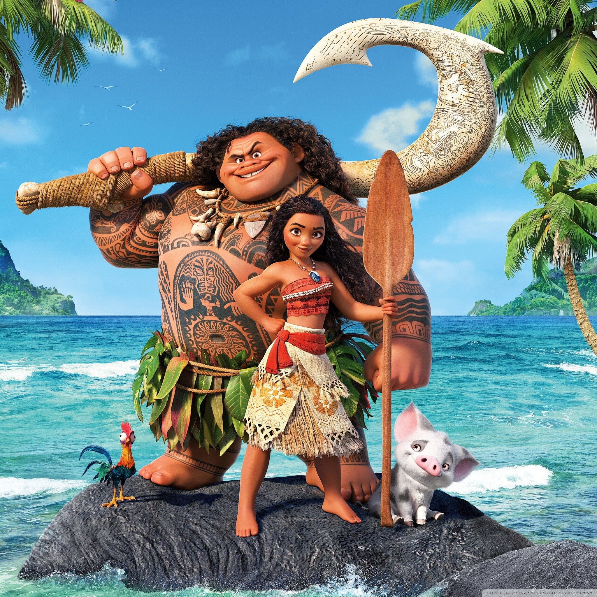 Moana Wallpapers (64+ pictures)