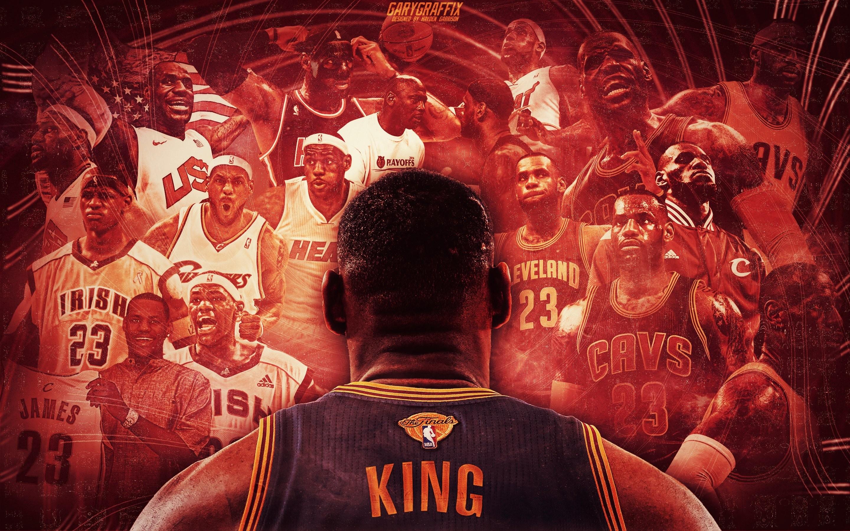 Cleveland Cavaliers Lebron James 4K Wallpaper 3840x2160