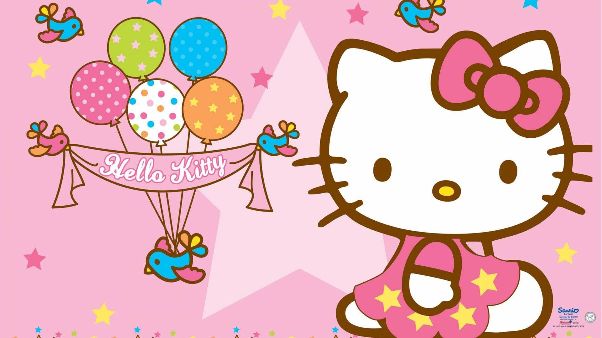 Hello kitty wallpapers 61 pictures 2560x1600 hello kitty wallpaper background 16028 voltagebd Choice Image