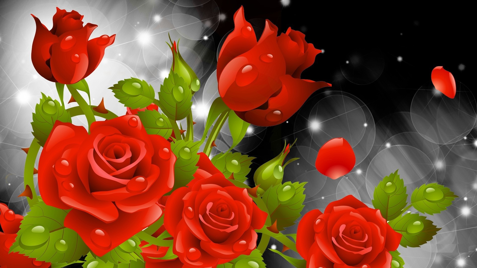 Red flowers wallpapers 69 pictures 2560x1600 beautiful red flowers wallpapers pictures 5 hd wallpapers hdimges izmirmasajfo