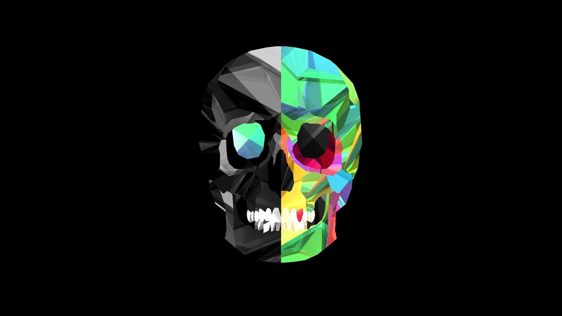 2160x1920 Green Flaming Skull Wallpapers By Molly Dennis 14