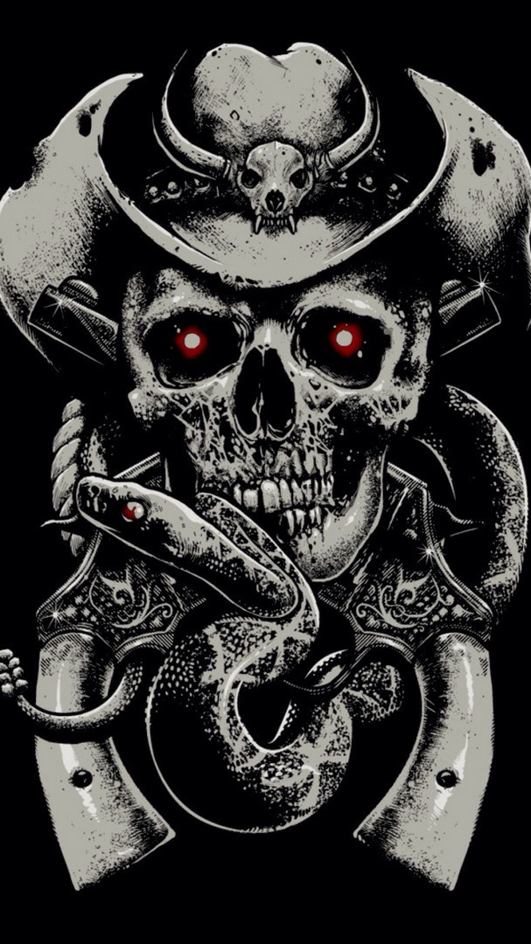 Punk Skull Wallpaper 45 Pictures