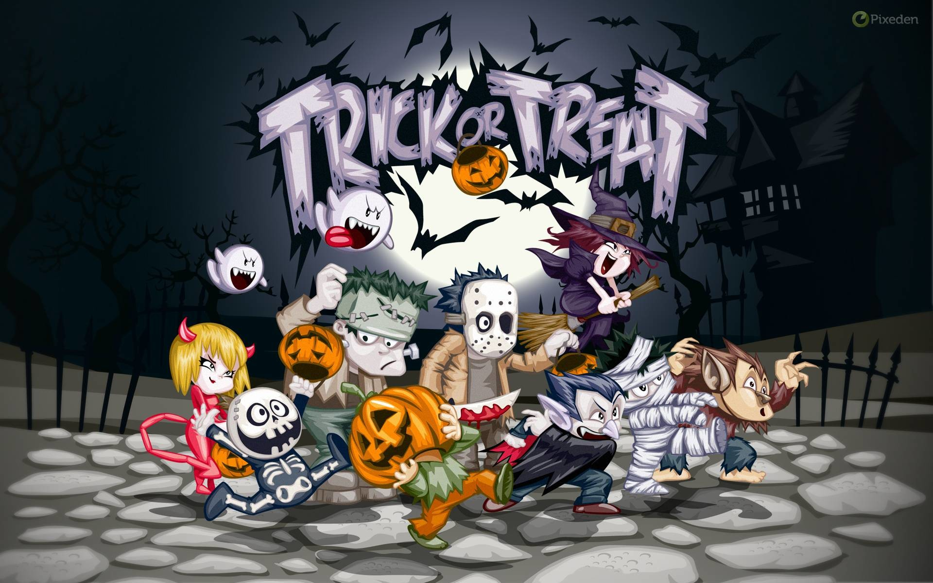 Trick Or Treat Wallpaper 62 Pictures