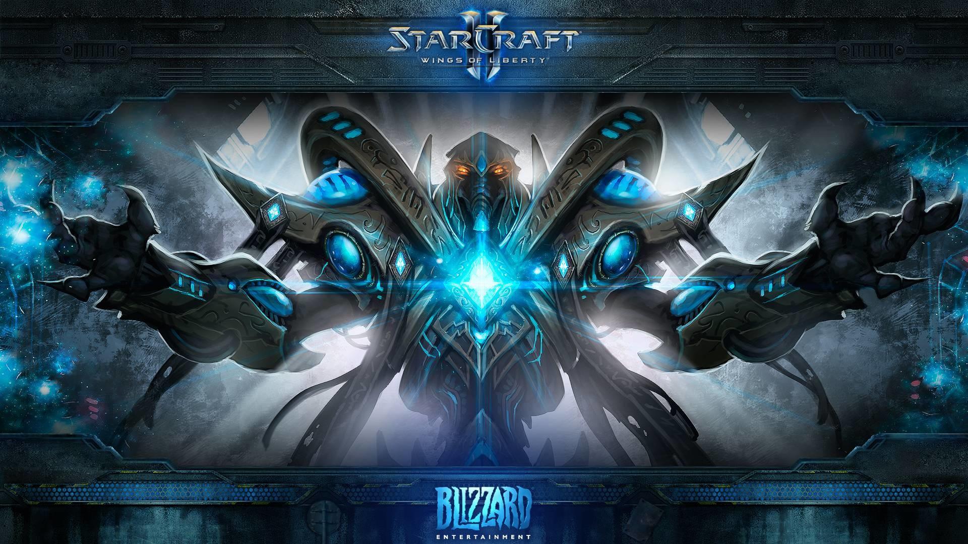 Starcraft wallpaper Opera