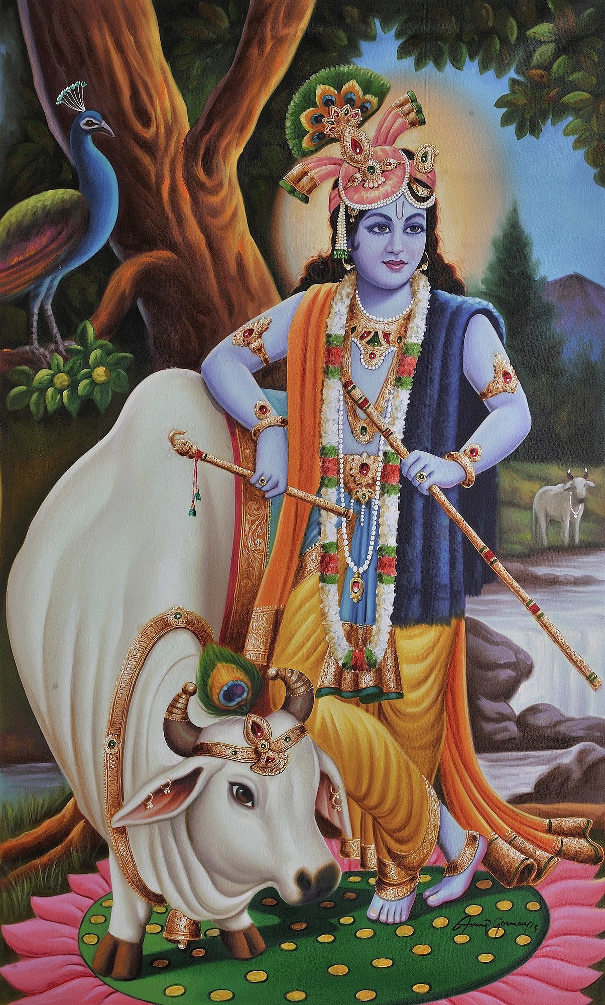 Lord Krishna Wallpaper 2018 (71+ pictures)