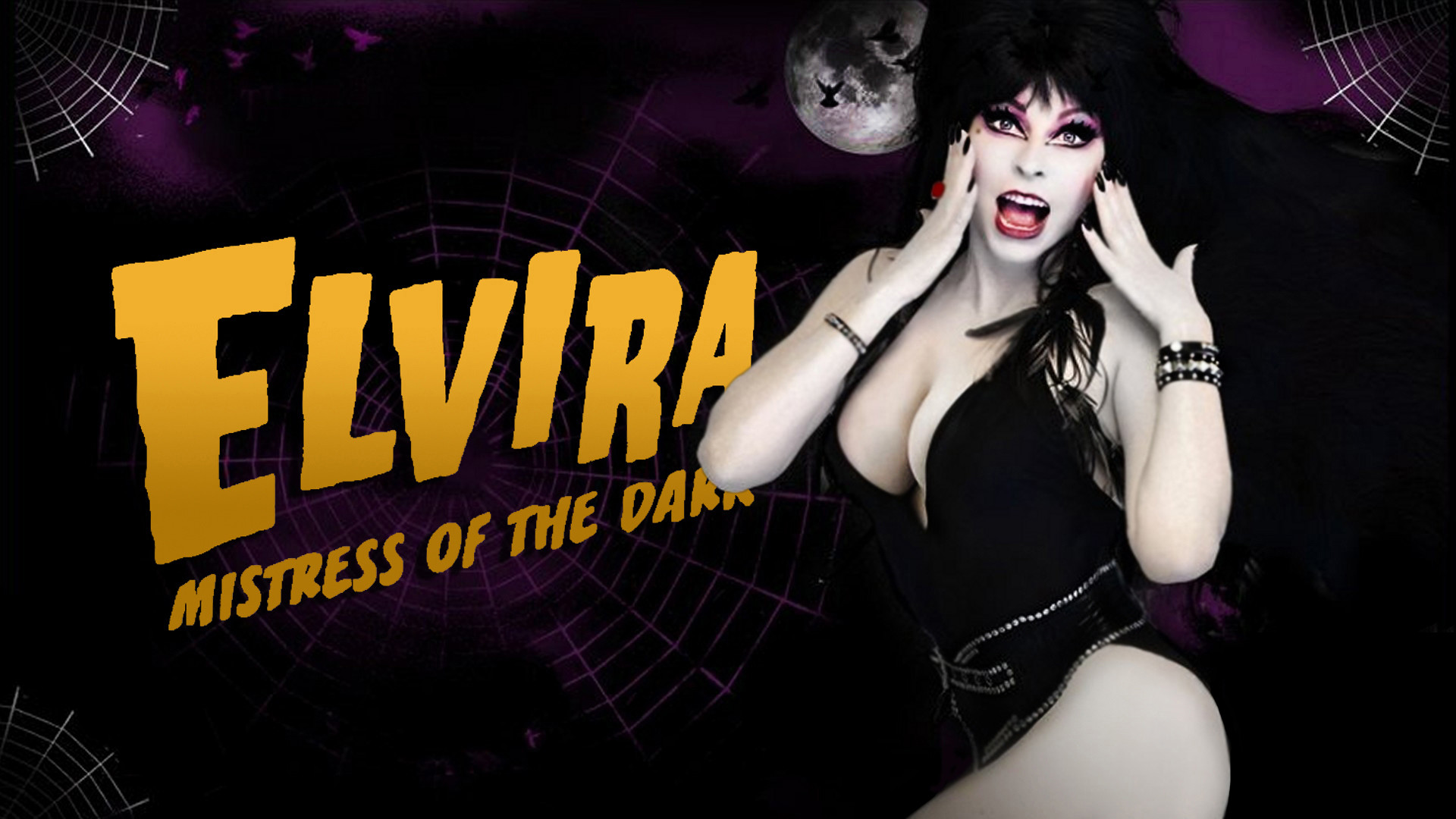 Elvira Mistress Of The Dark Wallpaper
