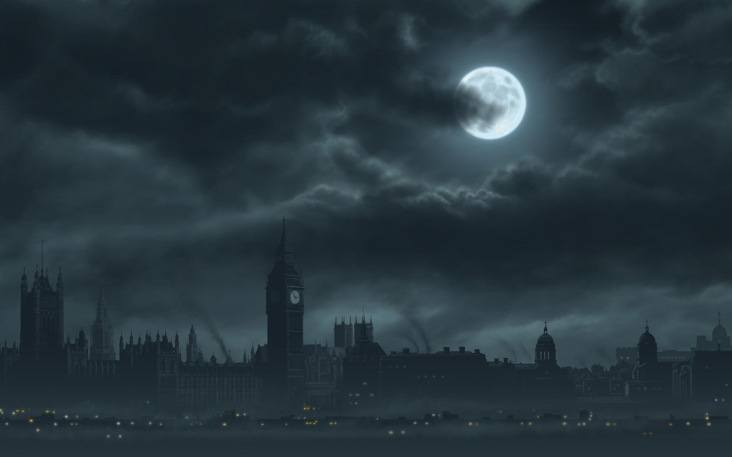 Dark City Background 59 Pictures