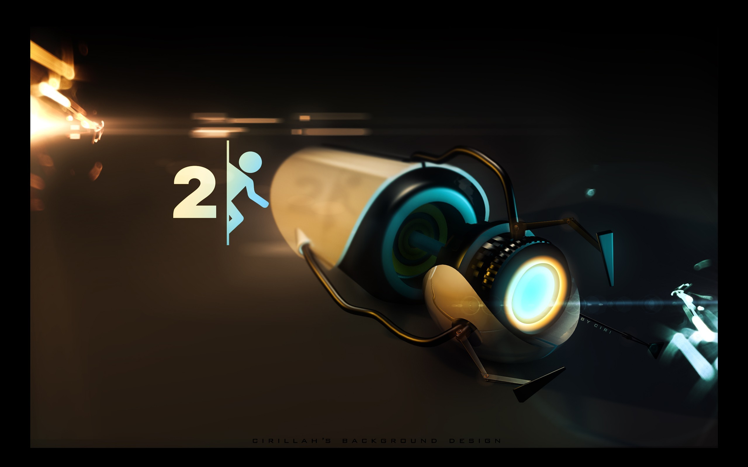 Portal 2 wallpaper 84 pictures video game portal wallpapers desktop phone tablet awesome voltagebd Images