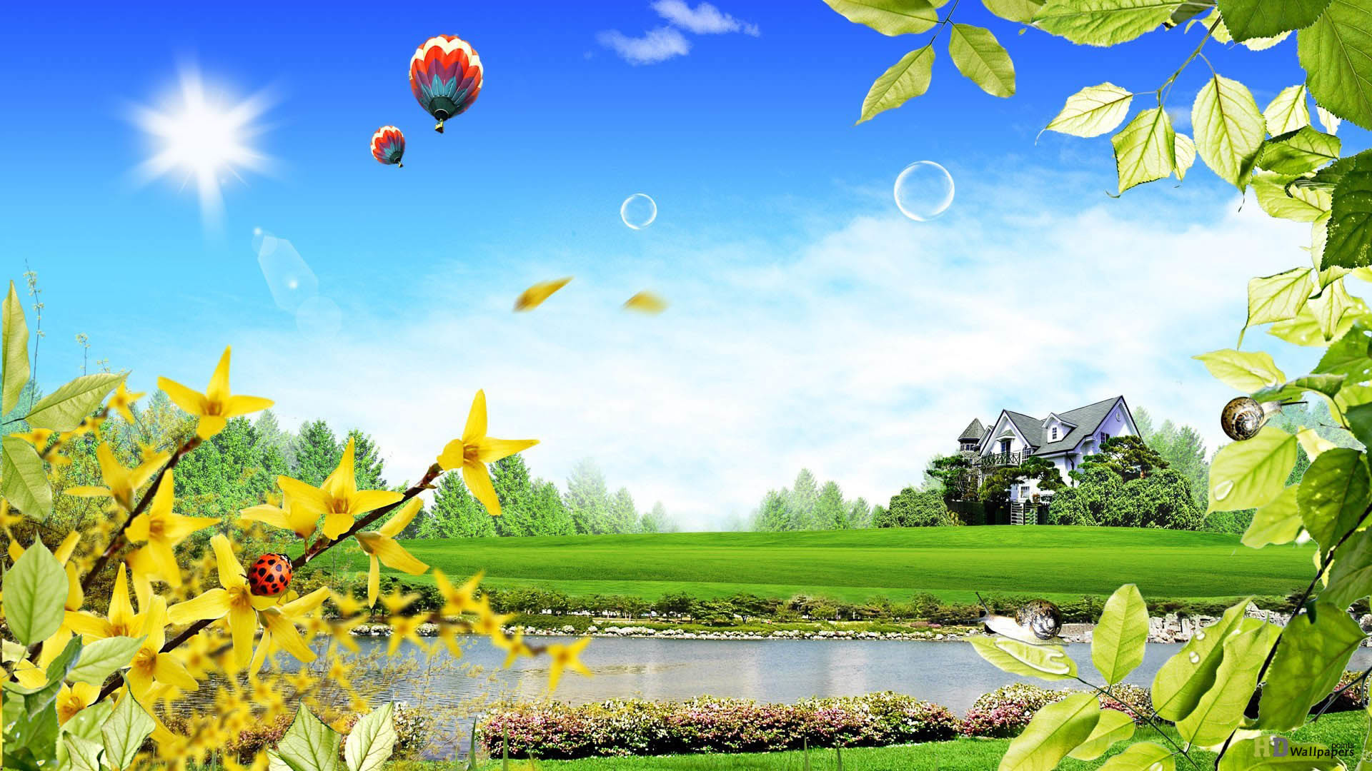 3d Nature Wallpapers 68 Pictures