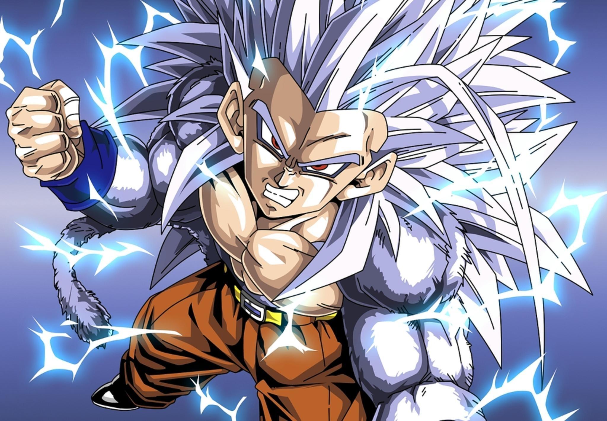 Goku Ssj5 Wallpapers 70 Pictures