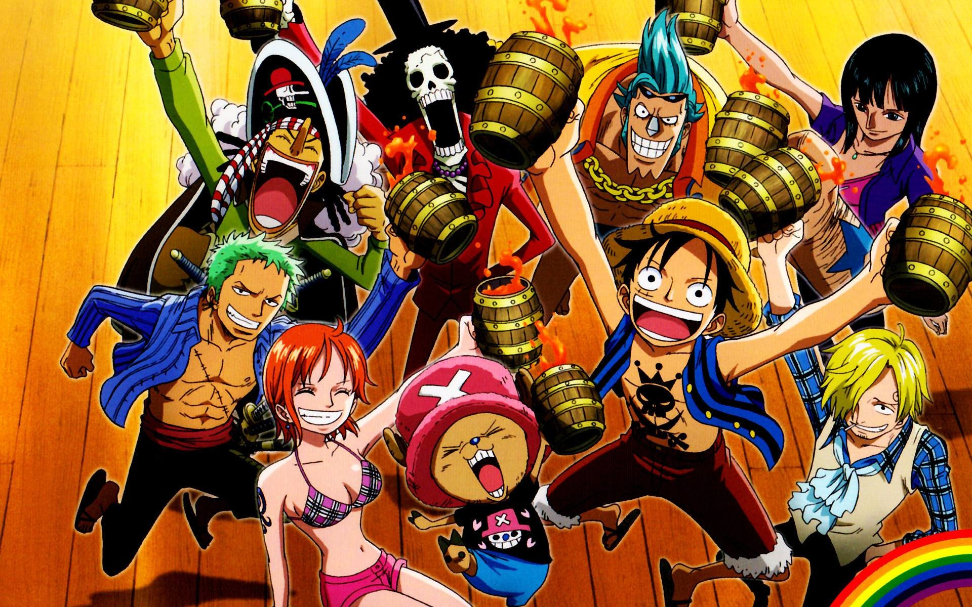 Laptop One Piece Desktop Wallpaper Hd