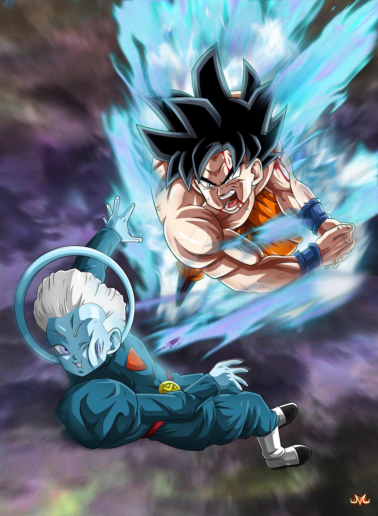 Goku Iphone 6 Wallpaper Gambarku