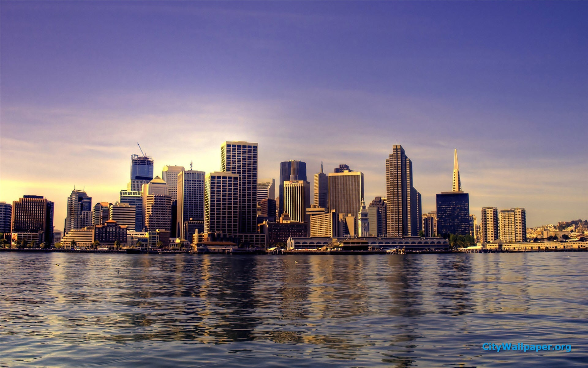 City Skyline Wallpaper 63 Pictures