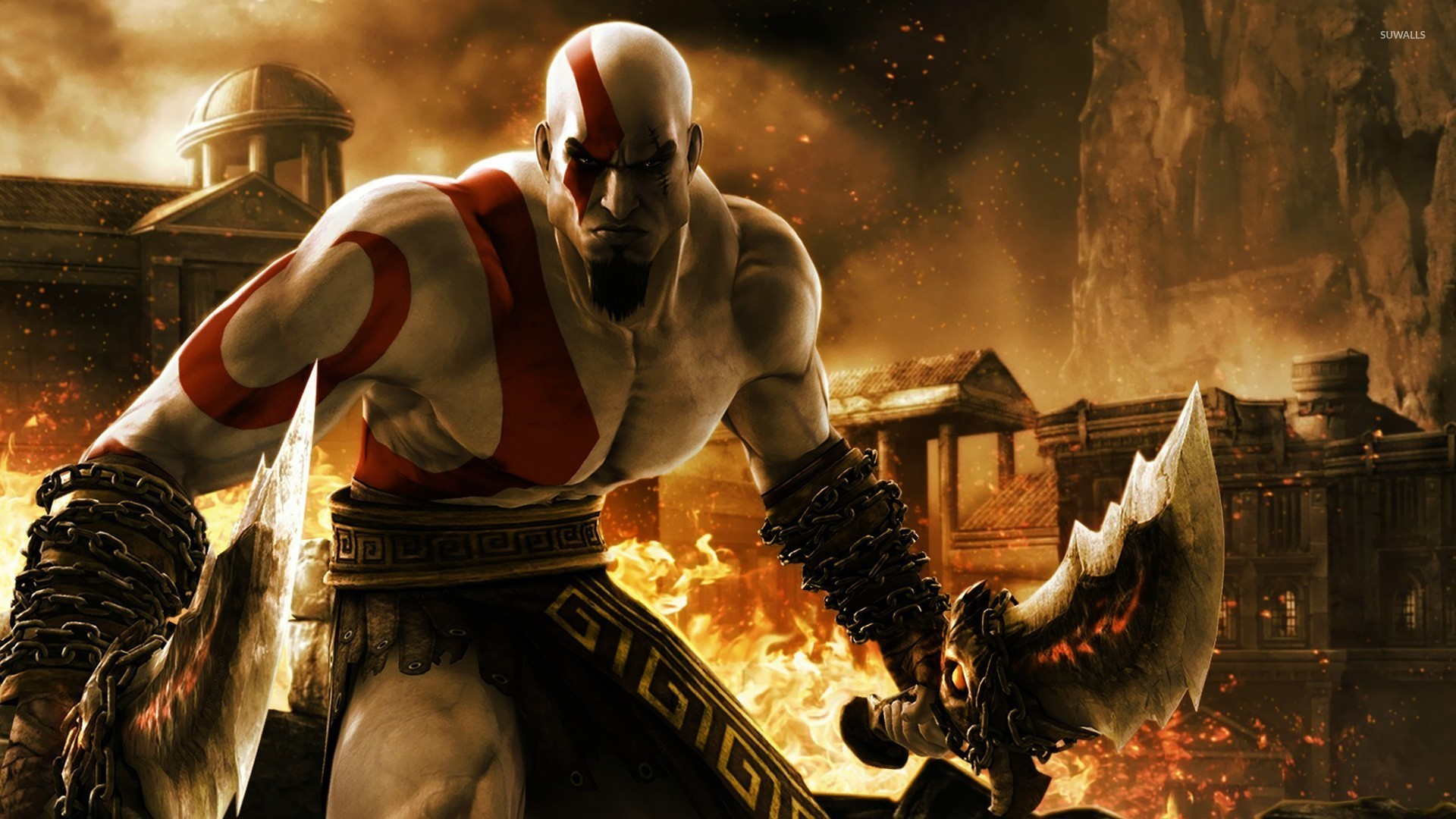 god of war 3 wallpaper (87+ pictures)