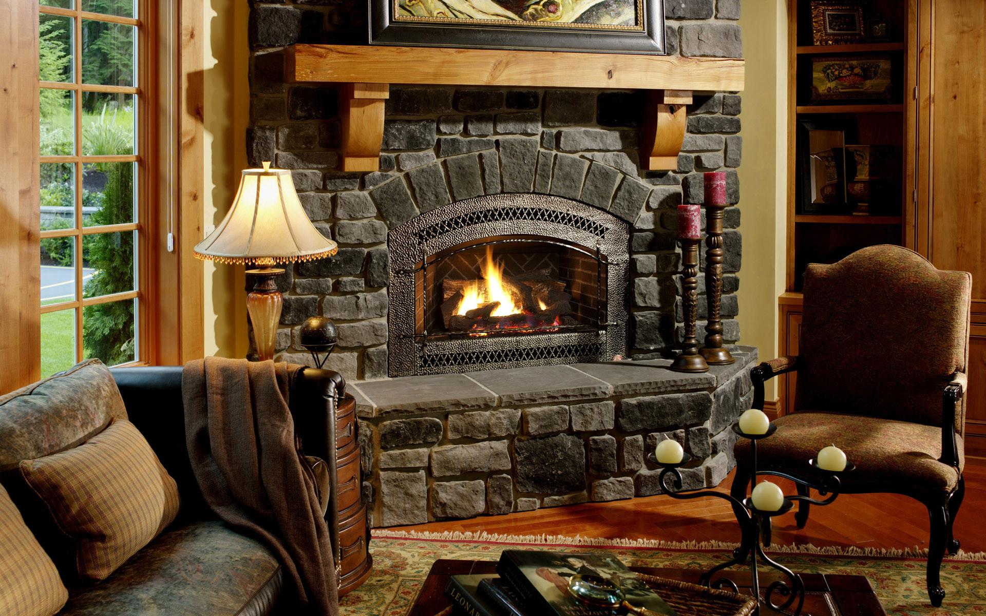 Fireplace Desktop Wallpaper (54+ pictures)