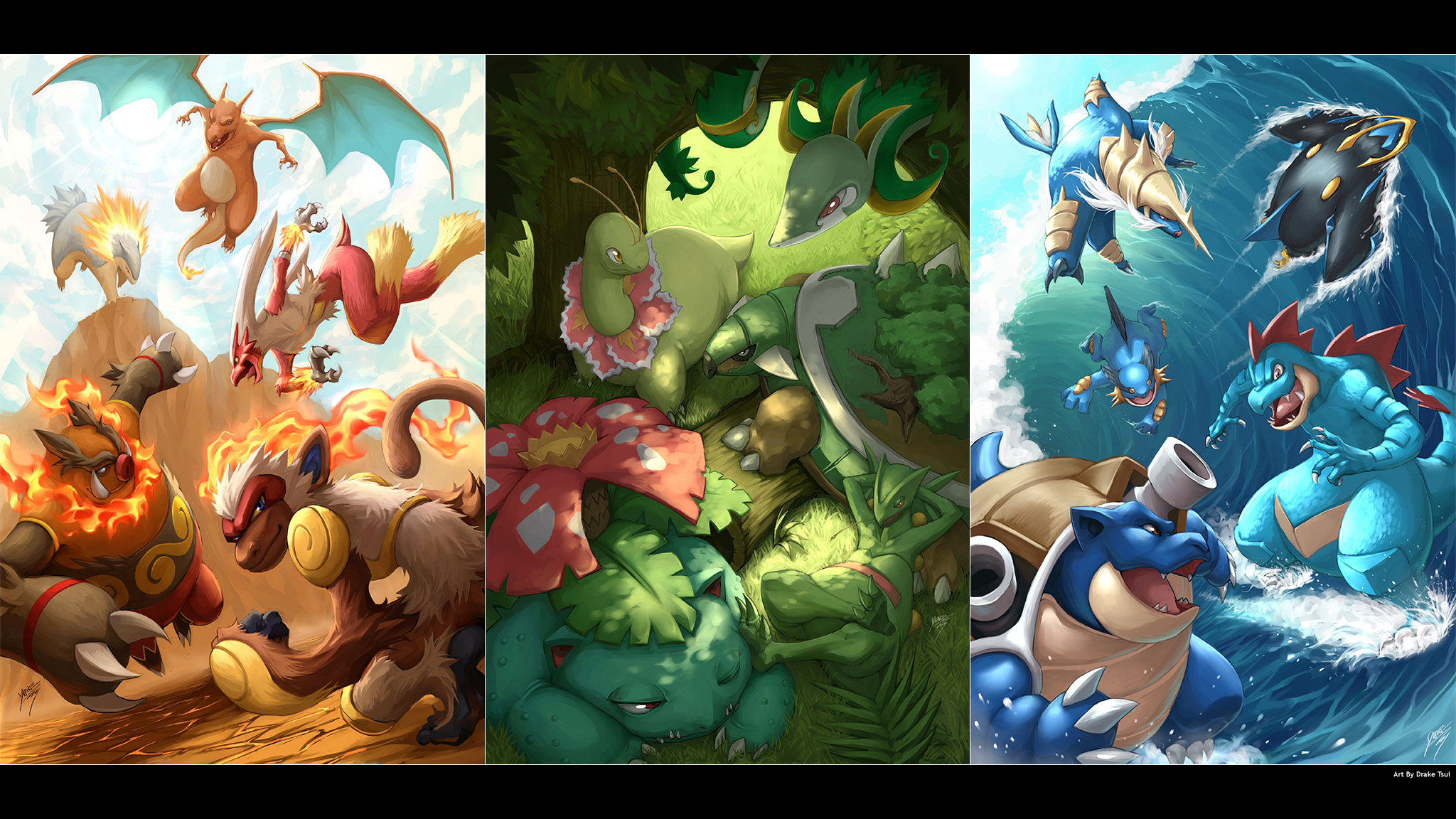Pokemon Starters Wallpapers 71 Pictures