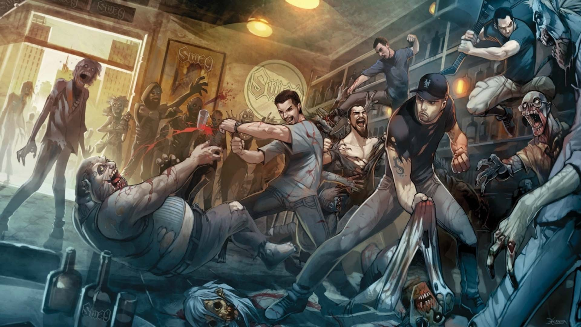 Zombie Wallpapers Hd 79 Pictures