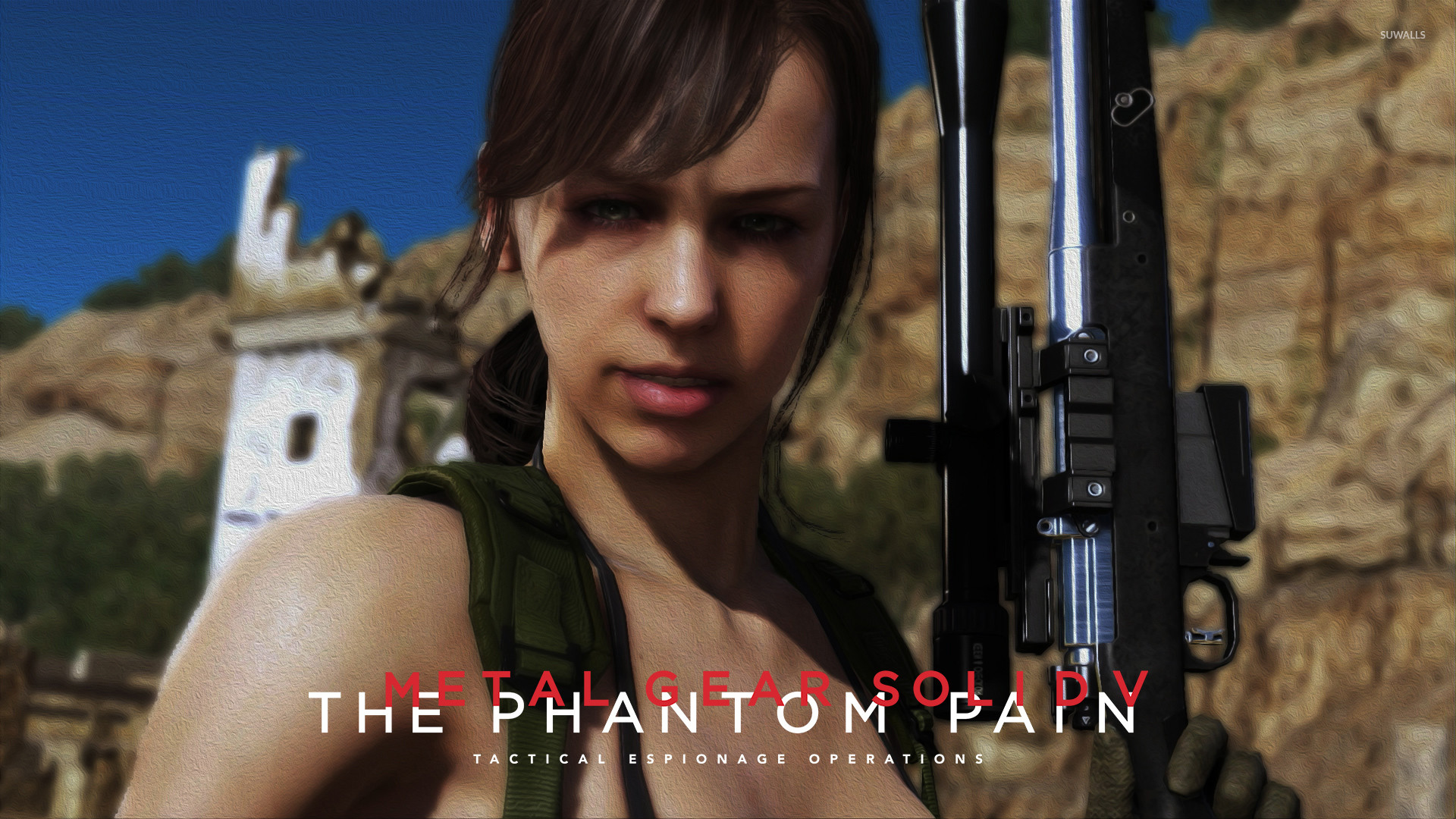 Metal Gear Solid V The Phantom Pain. Quiet by Kabukiart157
