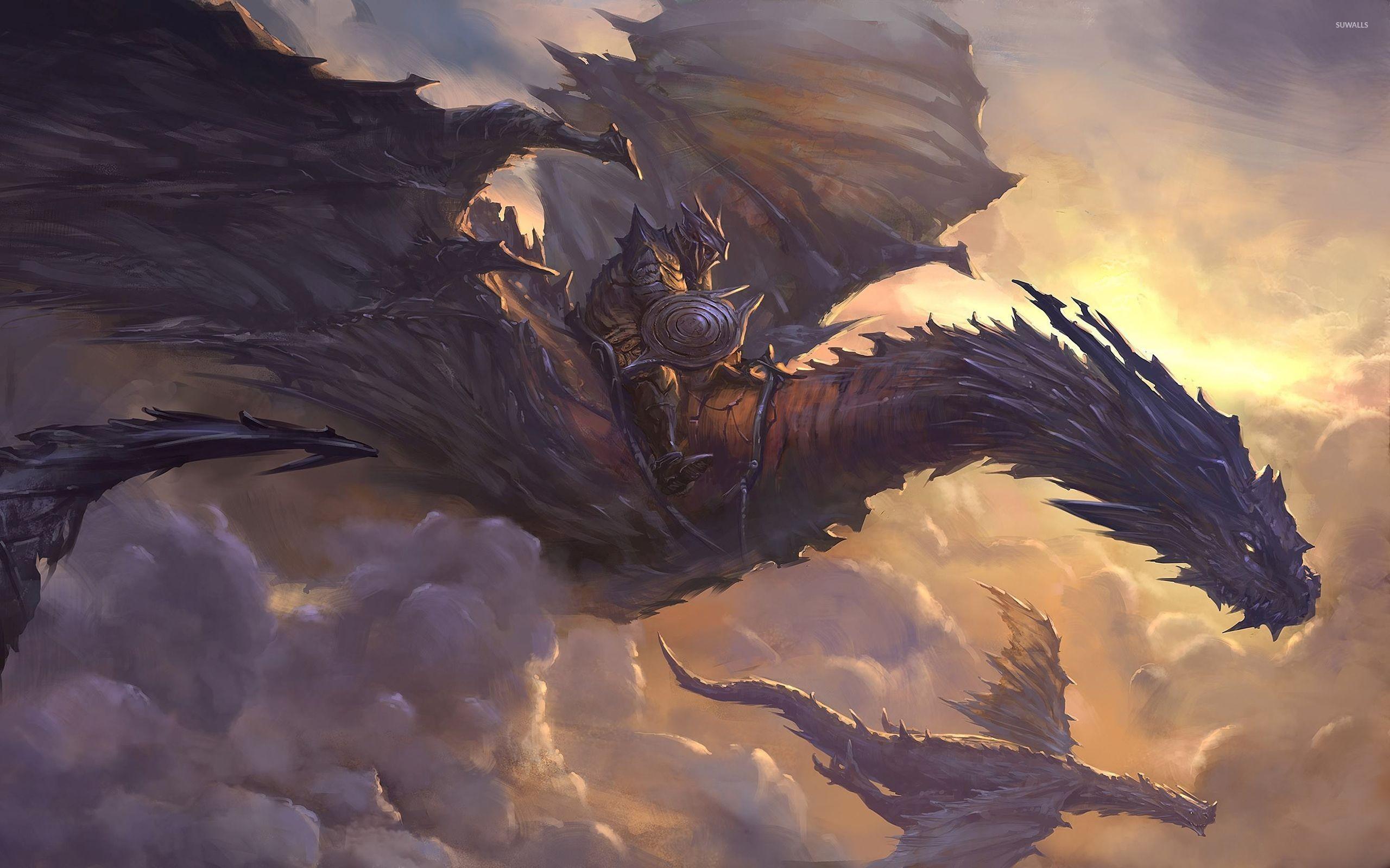 Wallpaperwiki Fantasy Dragon Dragons Backgrounds 2560 1600