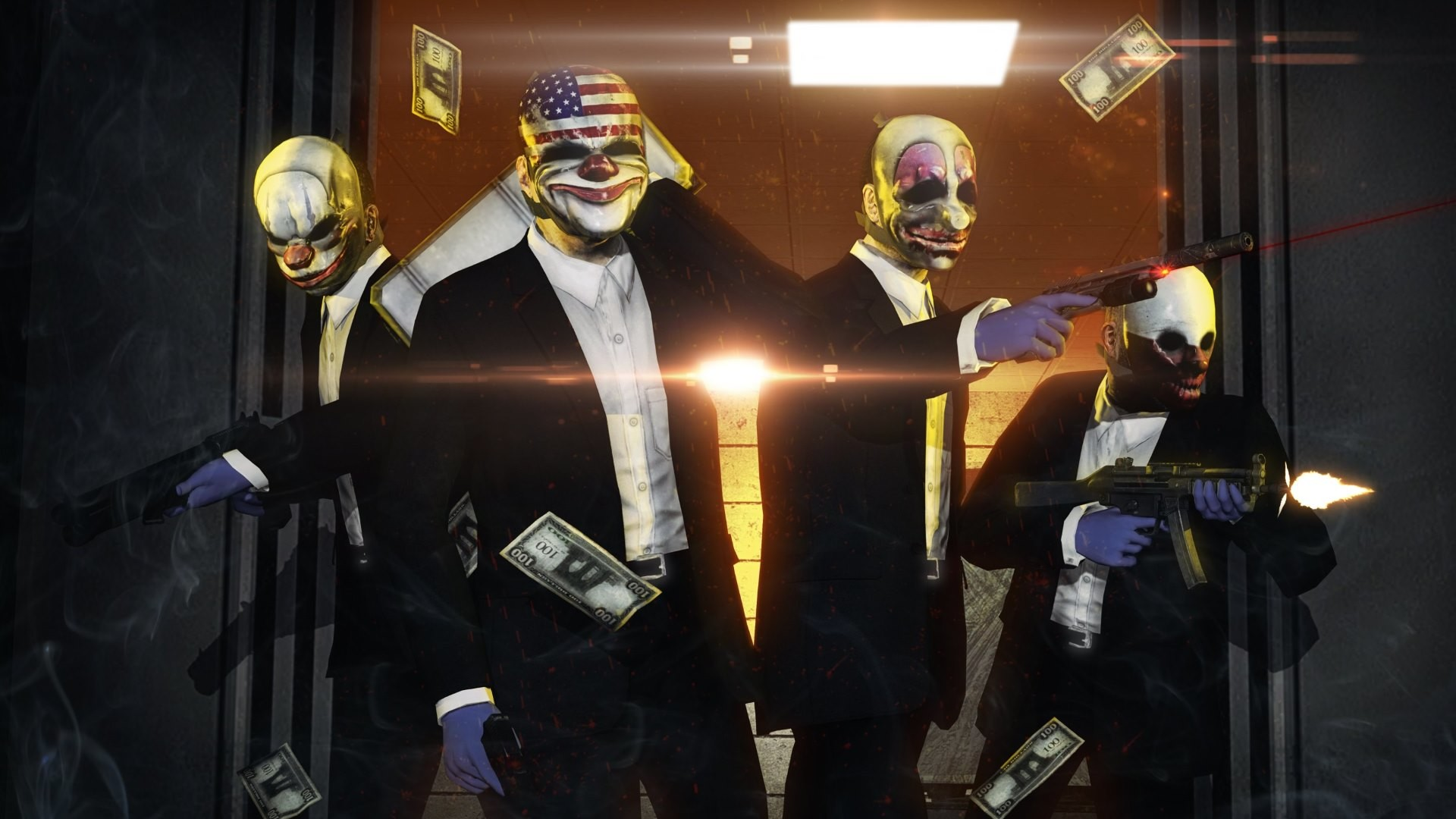 Payday 2 Wallpapers (87+ pictures)