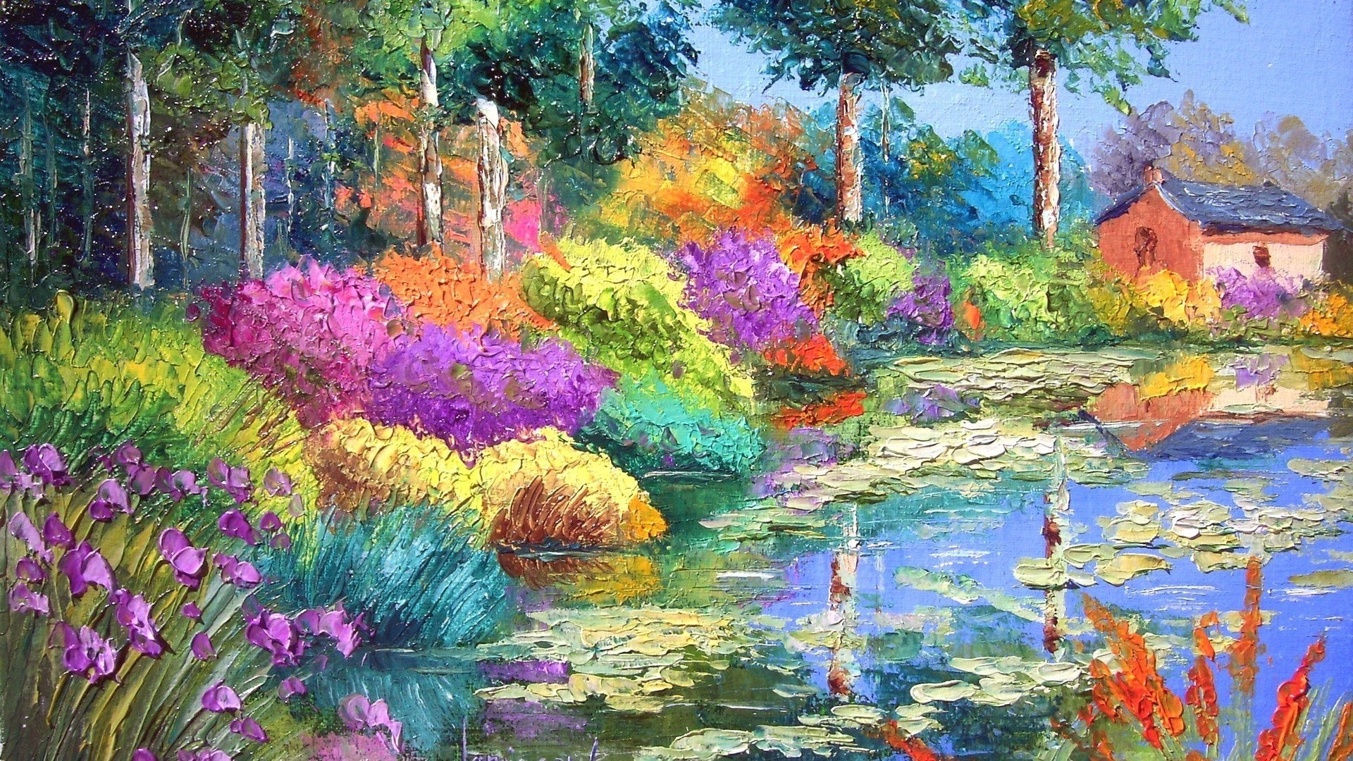 Famous Paintings Wallpaper 53 Pictures
